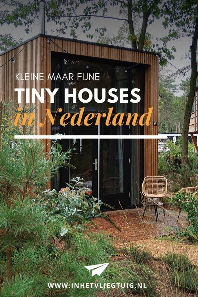 Overnachting in een Tiny House in Nederland
