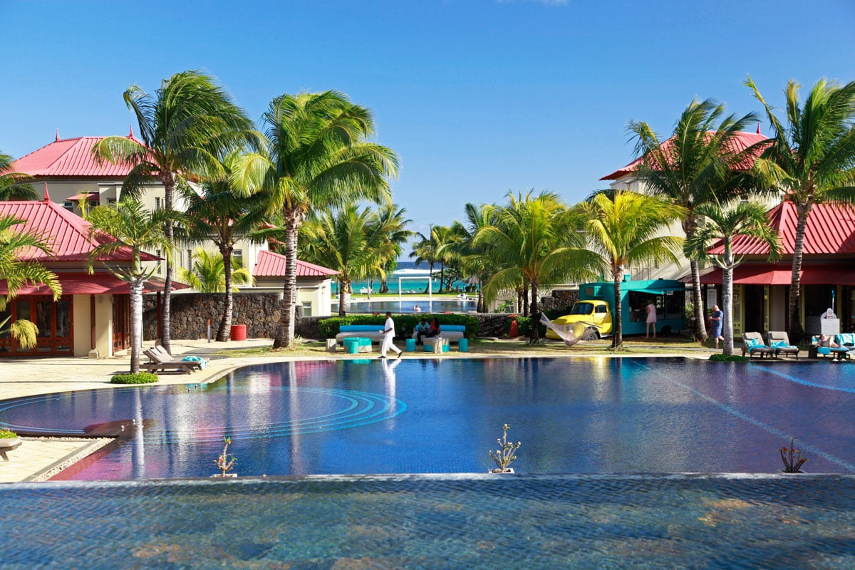 het zuiden van mauritius