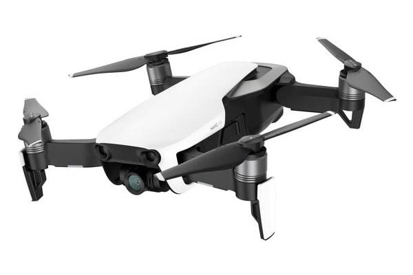 filmen met een drone in mauritius