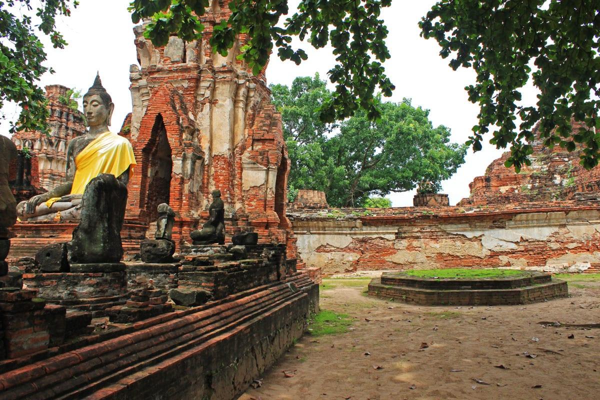 tempels ayutthaya bangkok excursie