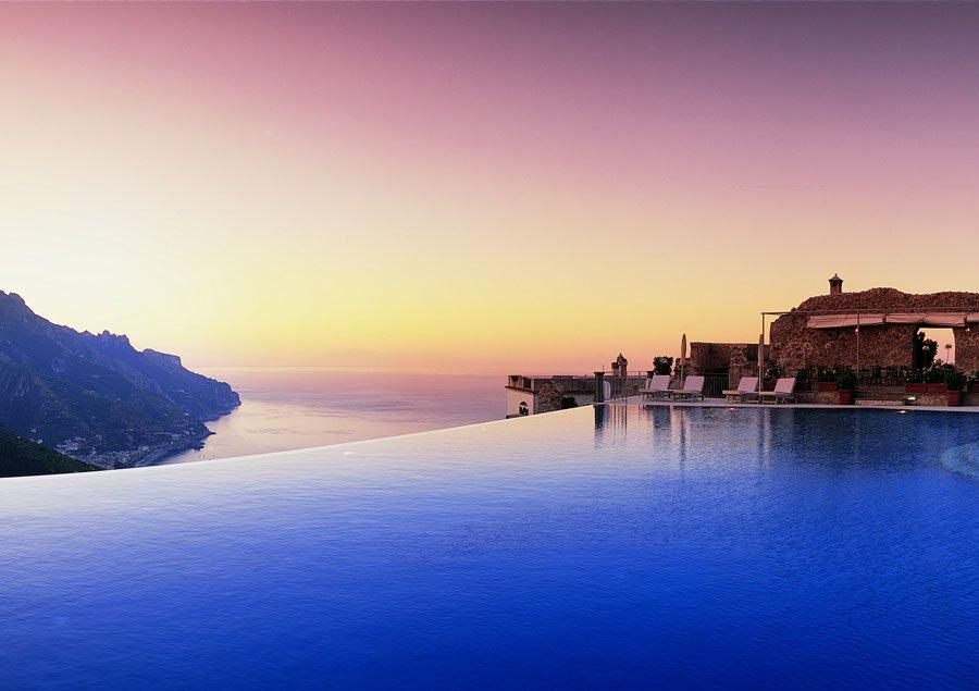 Infinity Pools - Belmond Caruso Hotel - Ravello, Italië