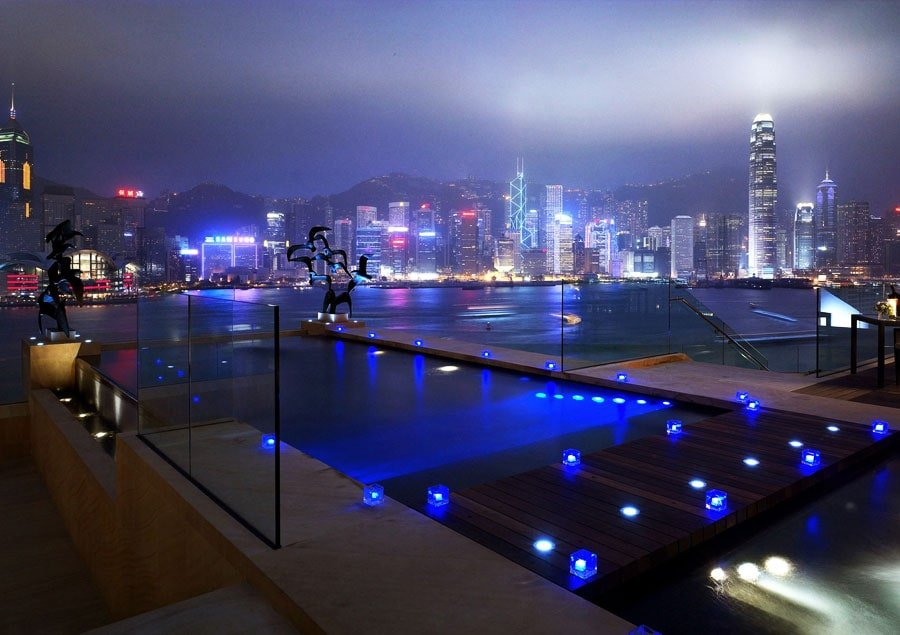 Infinity Pools - Intercontinental Hotel - Hong Kong