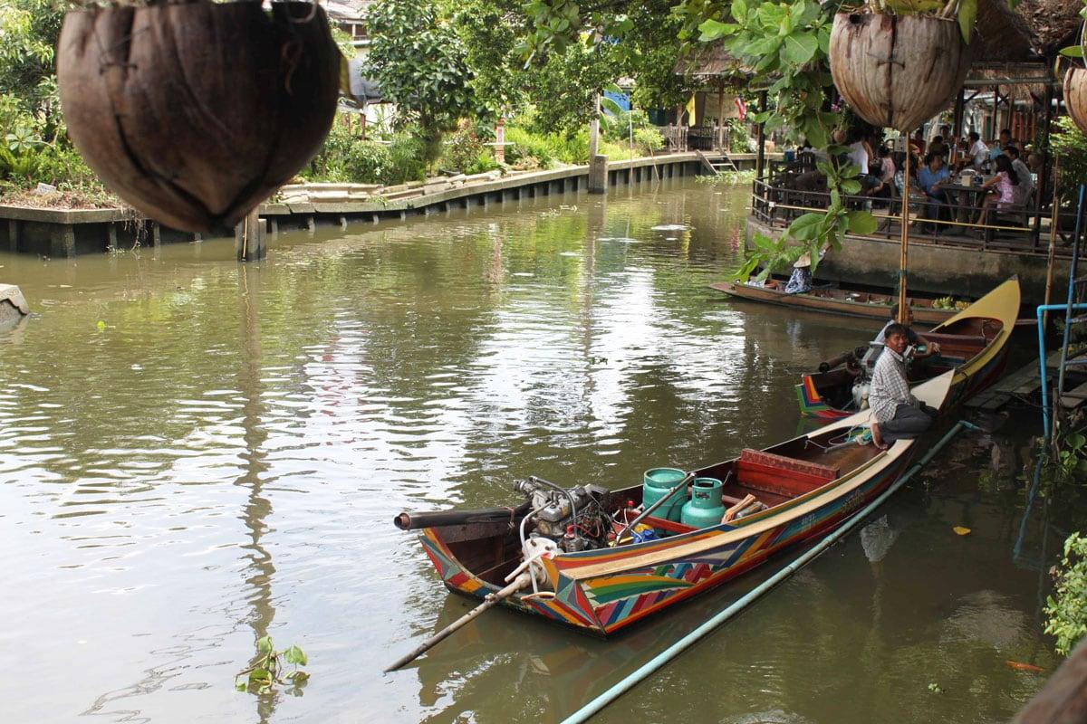 klong tour in bangkok