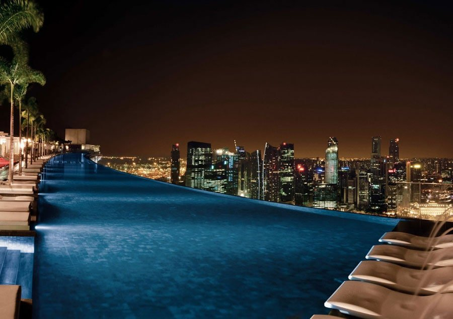 Infinity Pool - Marina Bay Sands Hotel - Singapore
