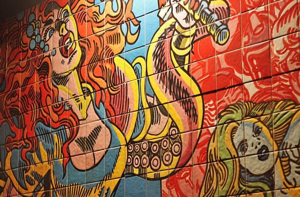 Parque das Nacoes Lissabon Street Art