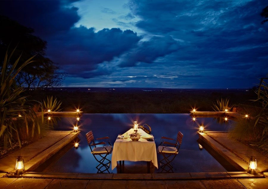 Infinity Pools - Stanley Safari Lodge - Zambia