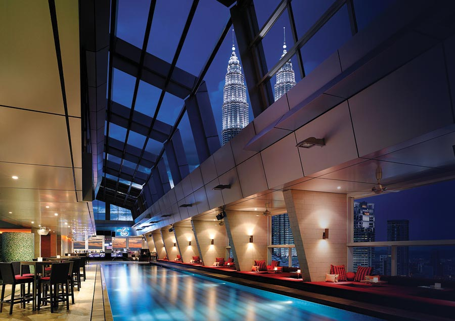Top 10 hotels - Traders Hotel Kuala Lumpur, Maleisië