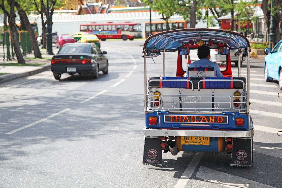 tuktuk tour door bangkok excursie