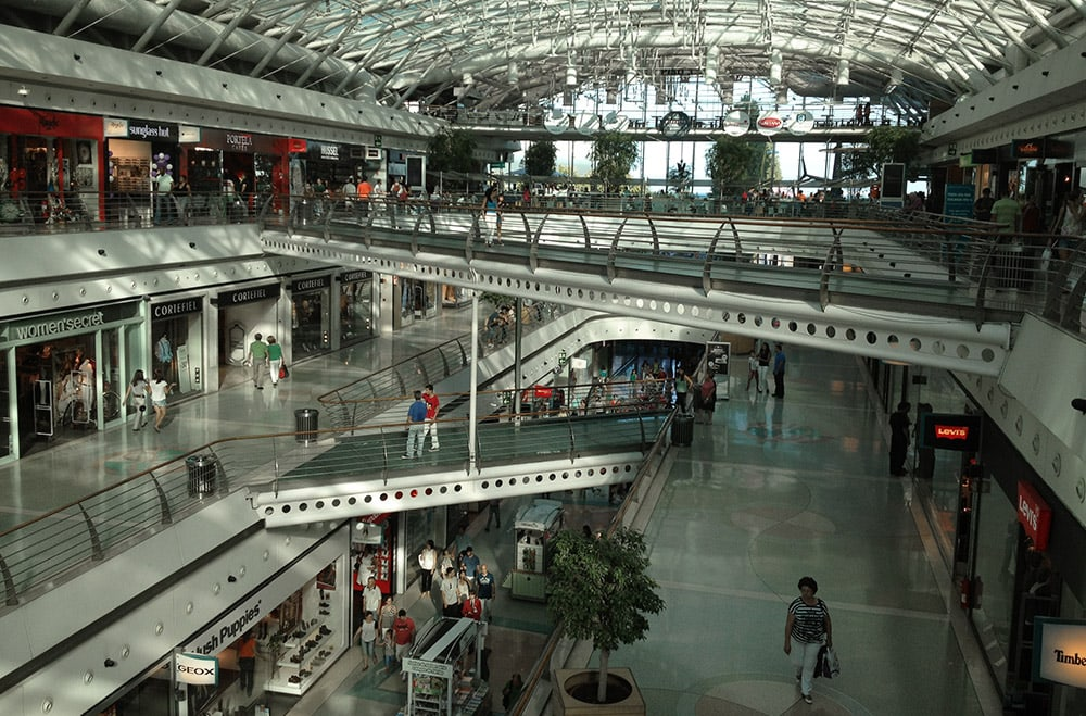 Casco da Gama Shopping Centre Lissabon
