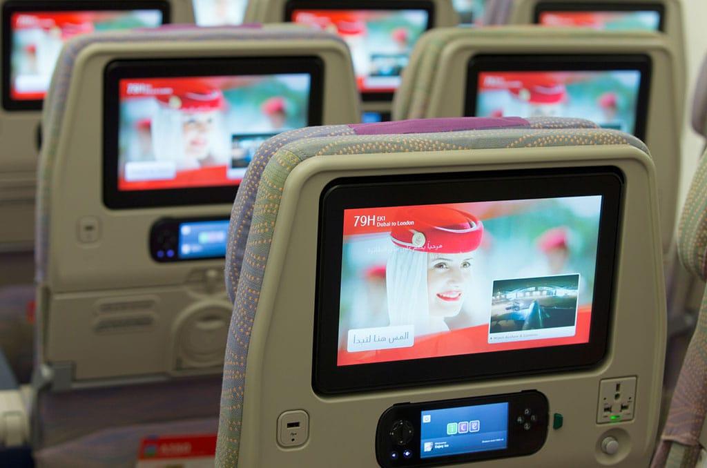 Vliegen met Emirates - Het Emirates ECI Entertainment systeem