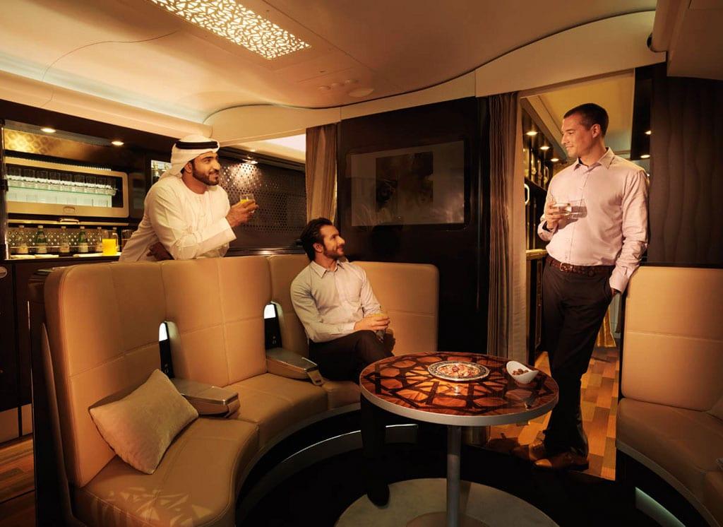 First Class Loby - Etihad Airways