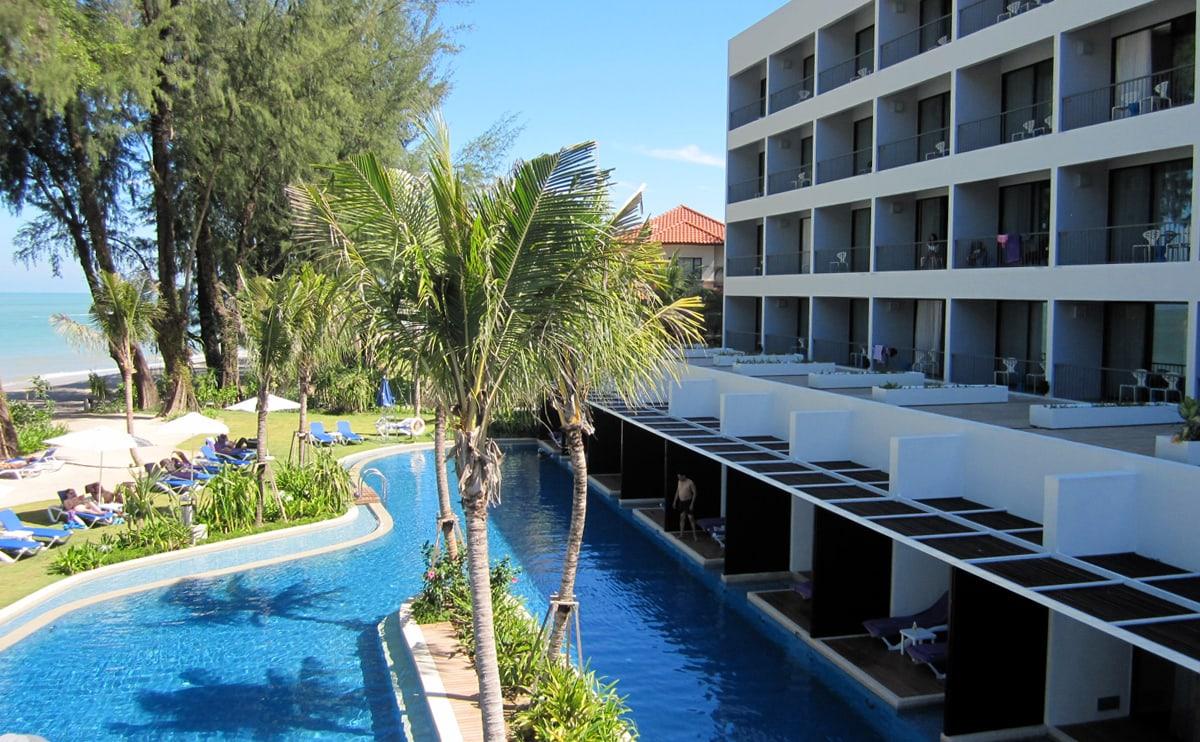 Hotel review hard rock hotel penang - Zwembad met strand ...