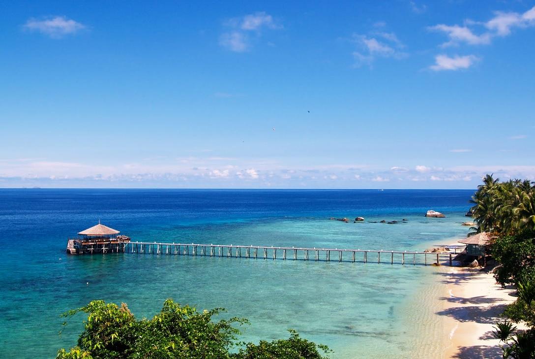 eiland in azie