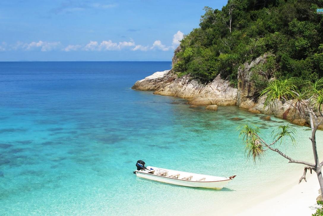 mooiste stranden perhentian islands maleisie