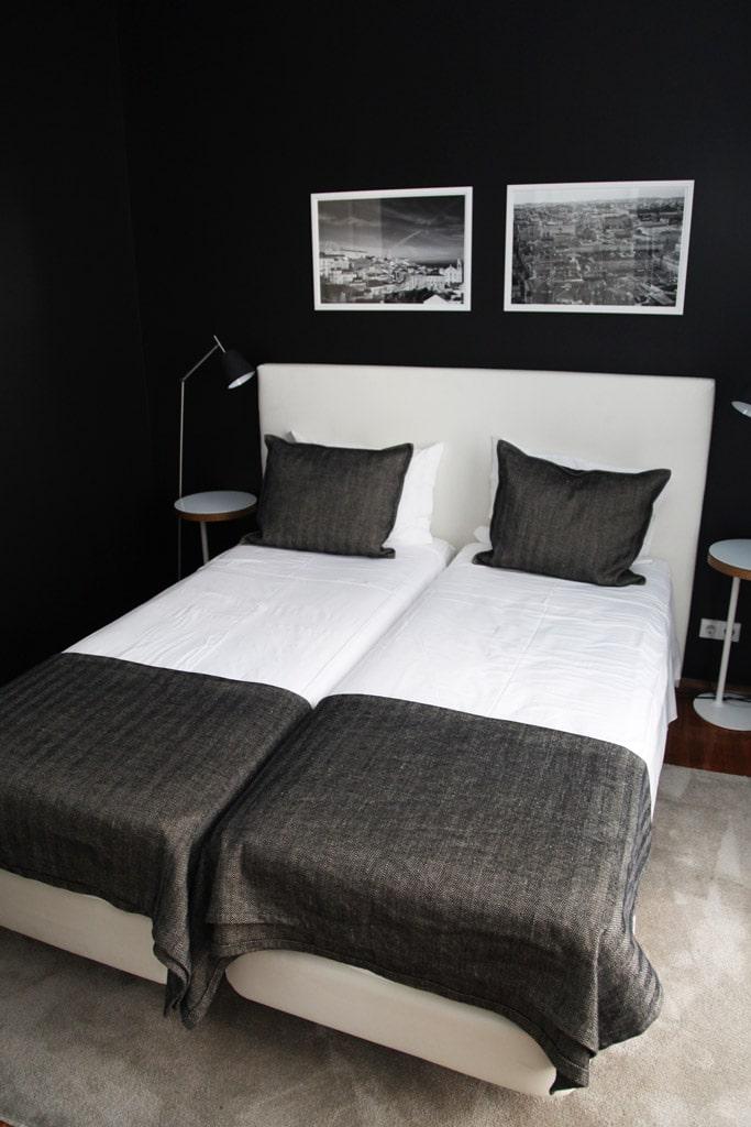 Slaapkamer van het Correeiros 28 appartement in Lissabon
