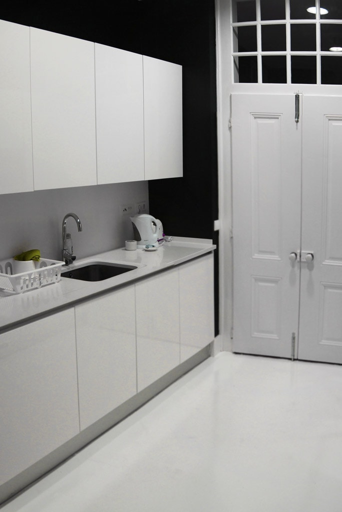 Keuken van het Correeiros 28 appartement in Lissabon