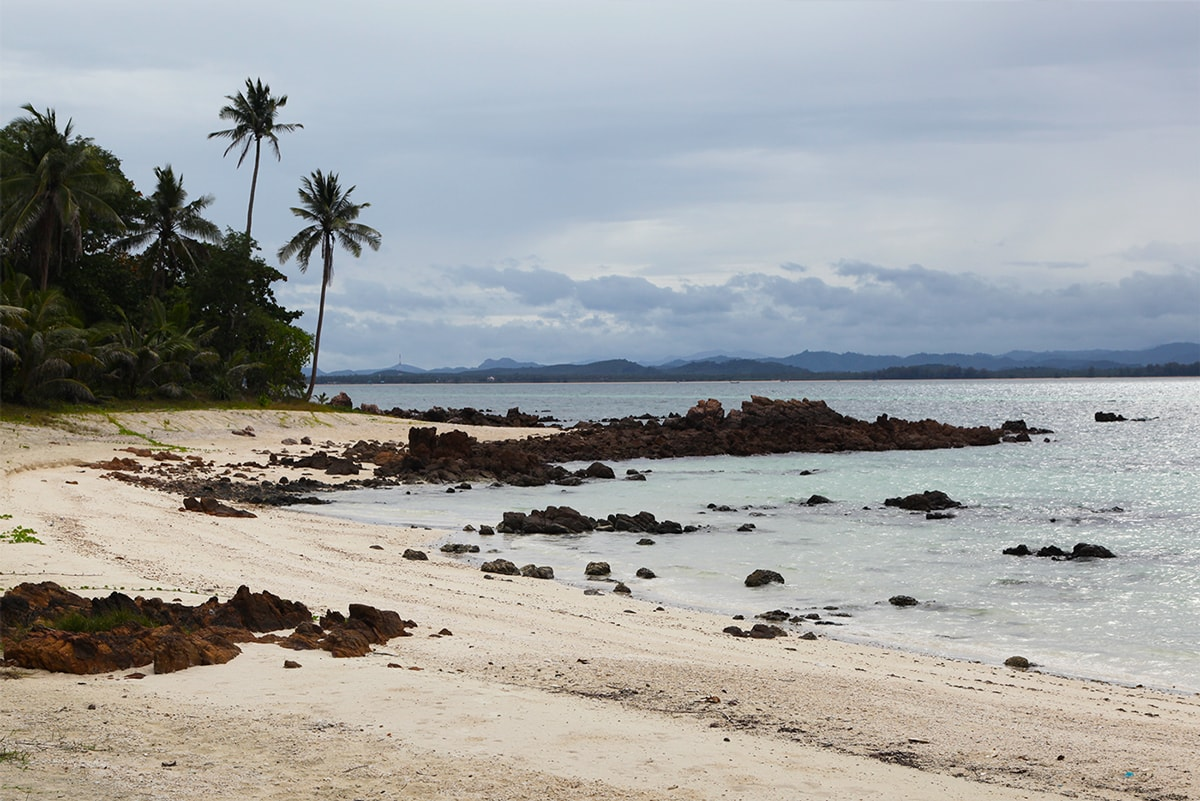 Het eiland Koh Talu in Thailand
