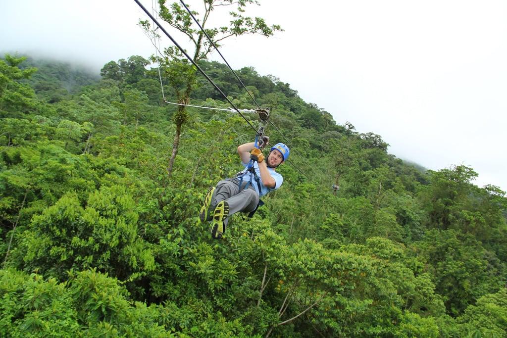 Ziplinen in Arenal Costa Rica