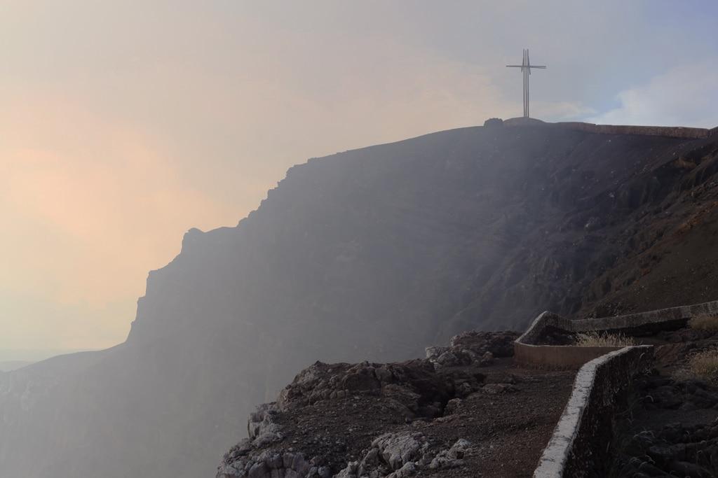 De Masaya vulkaan in Nicaragua