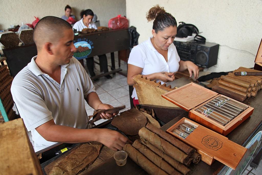 Dona Elba sigarenfabriek in Granada, Nicaragua