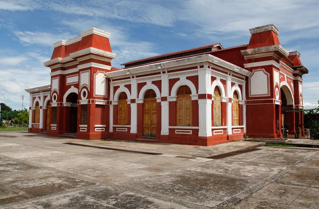 Bezienswaardigheden in Granada, Nicaragua - Het oude treinstation
