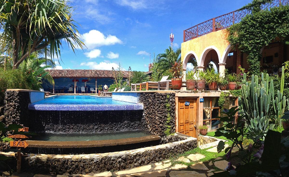 Hotel Spa Granada in Nicaragua - Zwembad