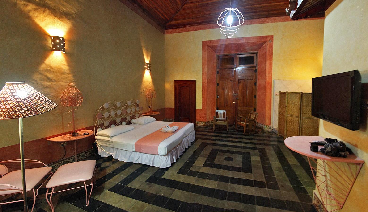 Hotel Spa Granada in Nicaragua - Hotelkamer