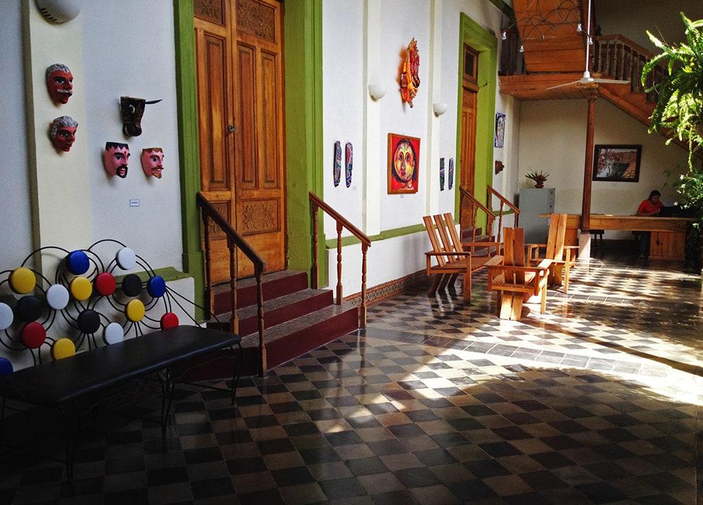 Hotel Spa Granada in Nicaragua - Lobby