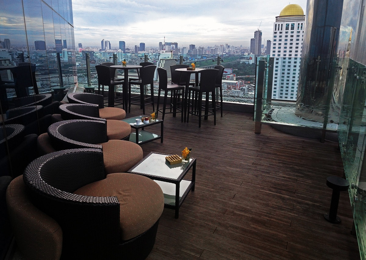 Amari Watergate Bangkok Hotel - Executive Lounge Rooftop Bar