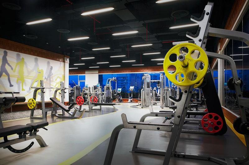 Amari Watergate Bangkok Hotel - Fitness ruimte