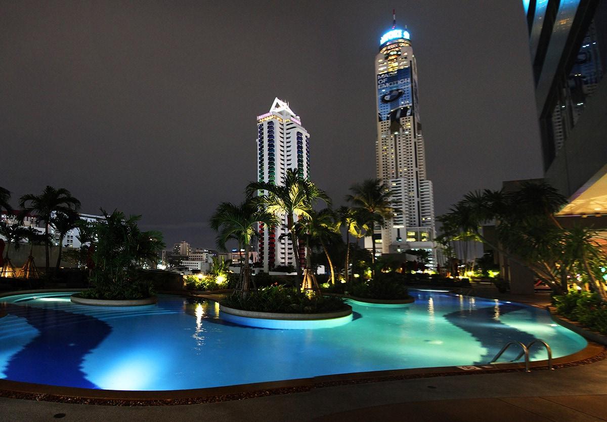 Amari Watergate Bangkok Hotel - Zwembad