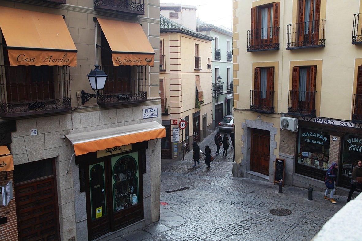 Pittoreske straatjes in Toledo