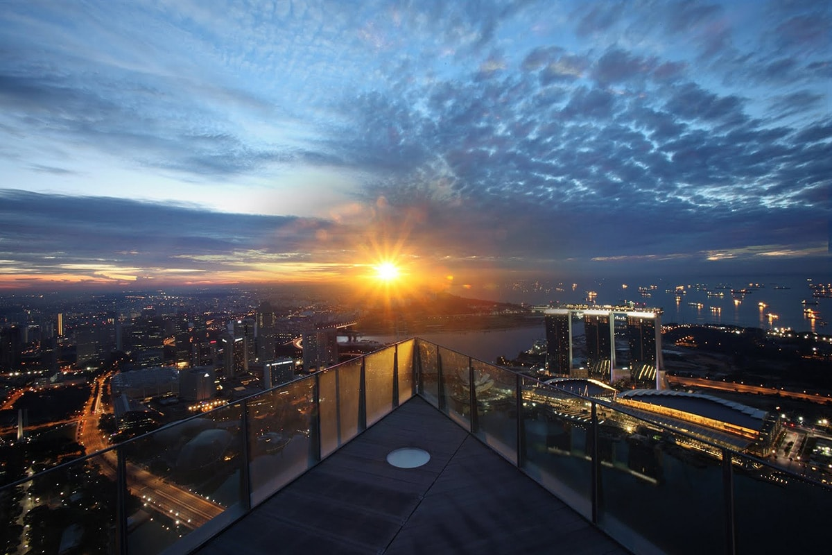 1-Altitude rooftop bar in Singapore