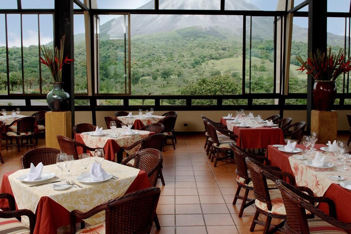 Arenal Kioro Hotel in Costa Rica - Restaurant