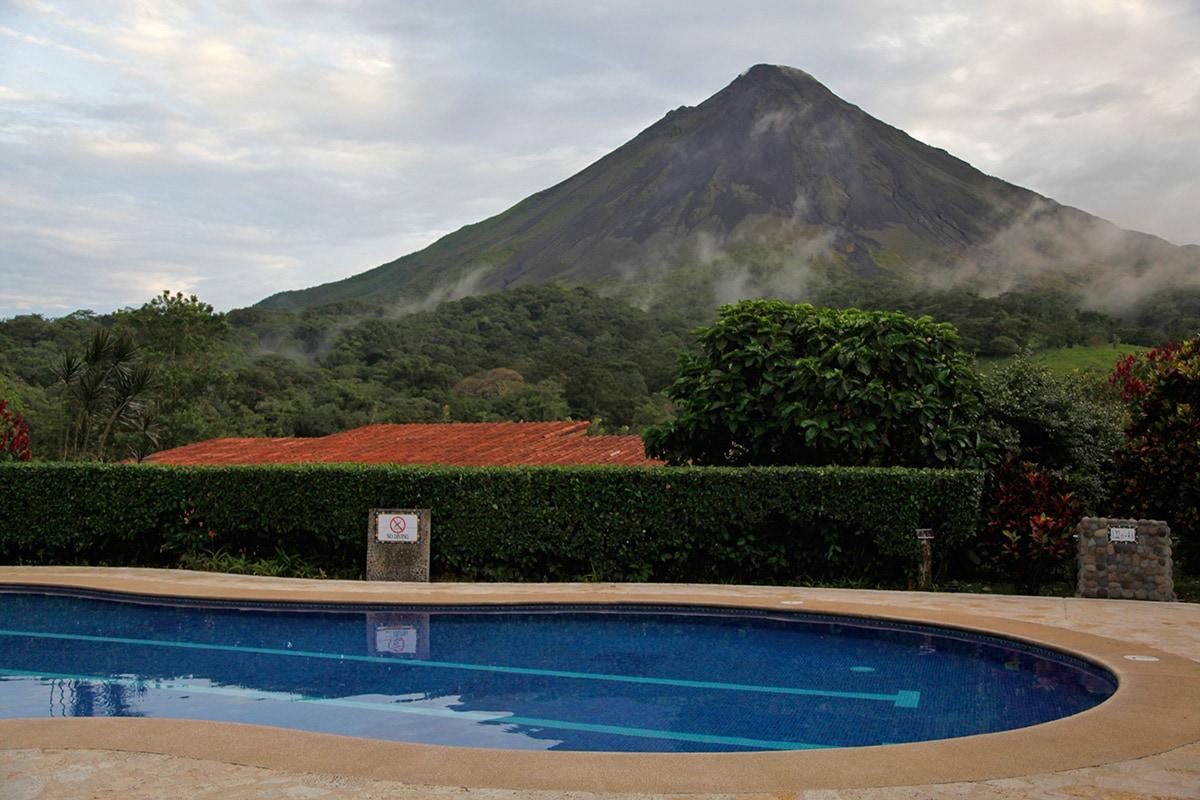 Arenal Kioro Hotel in Costa Rica - Zwembad