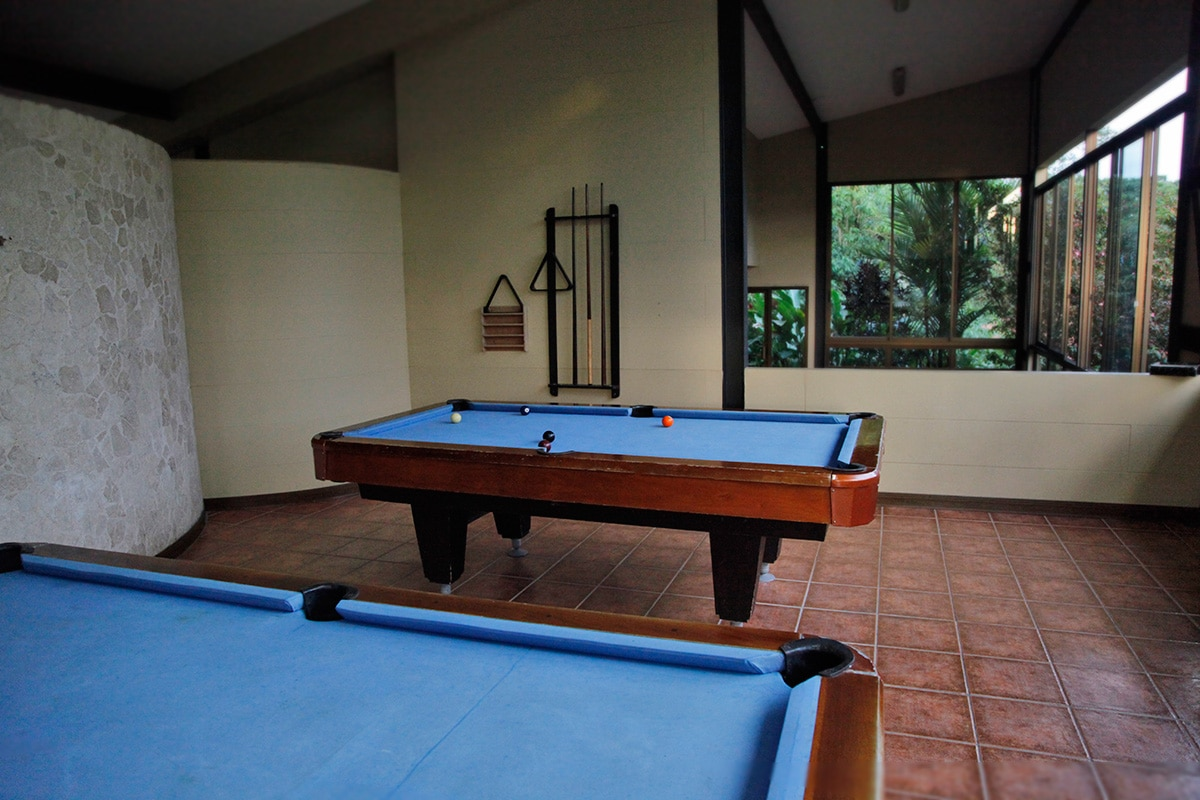 Arenal Kioro Hotel in Costa Rica - Recreatieruimte