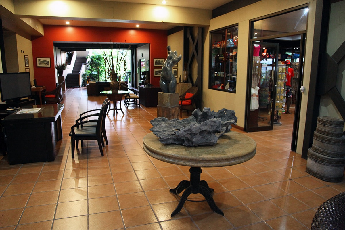 Arenal Kioro Hotel in Costa Rica - Lobby