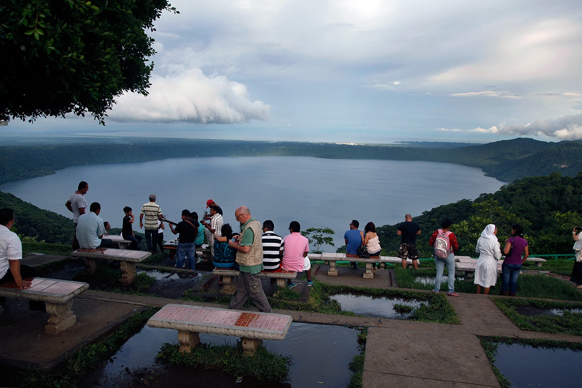 Catarina Viewpoint in Nicaragua