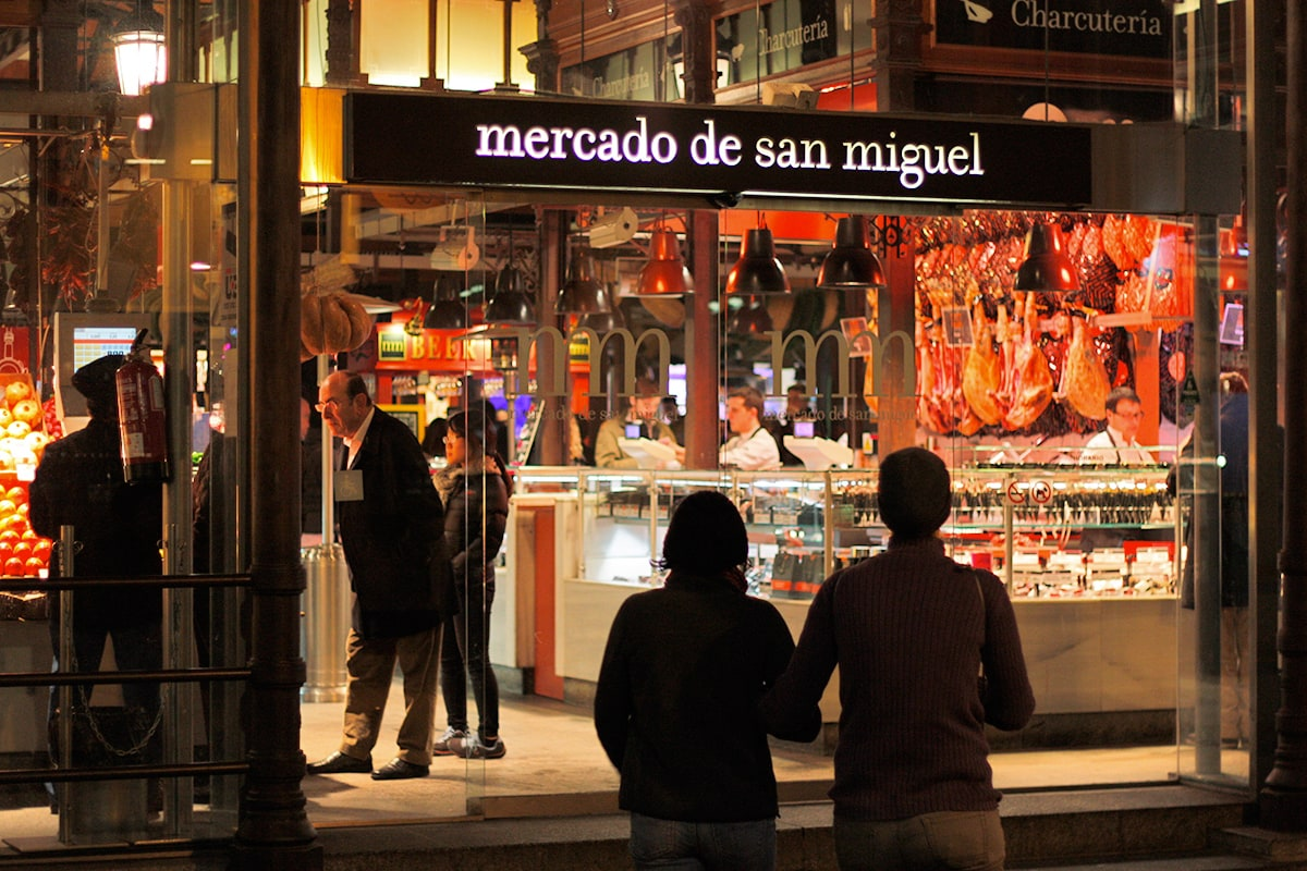 madrid bezienswaardigheden mercado de san miguel