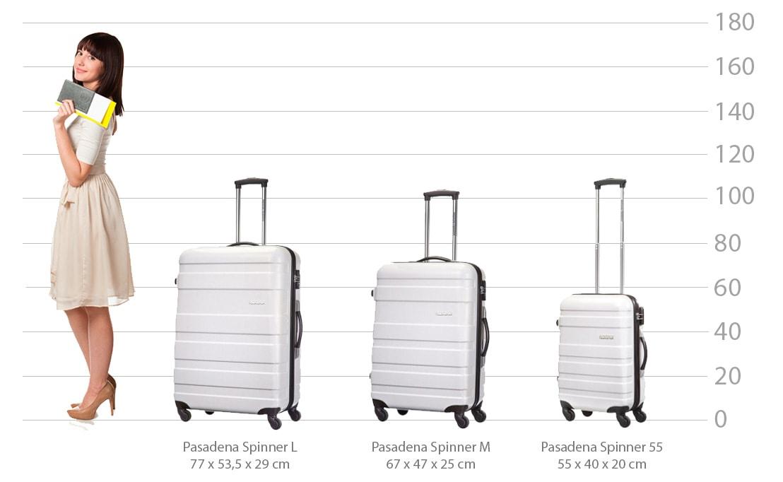 maten samsonite koffer