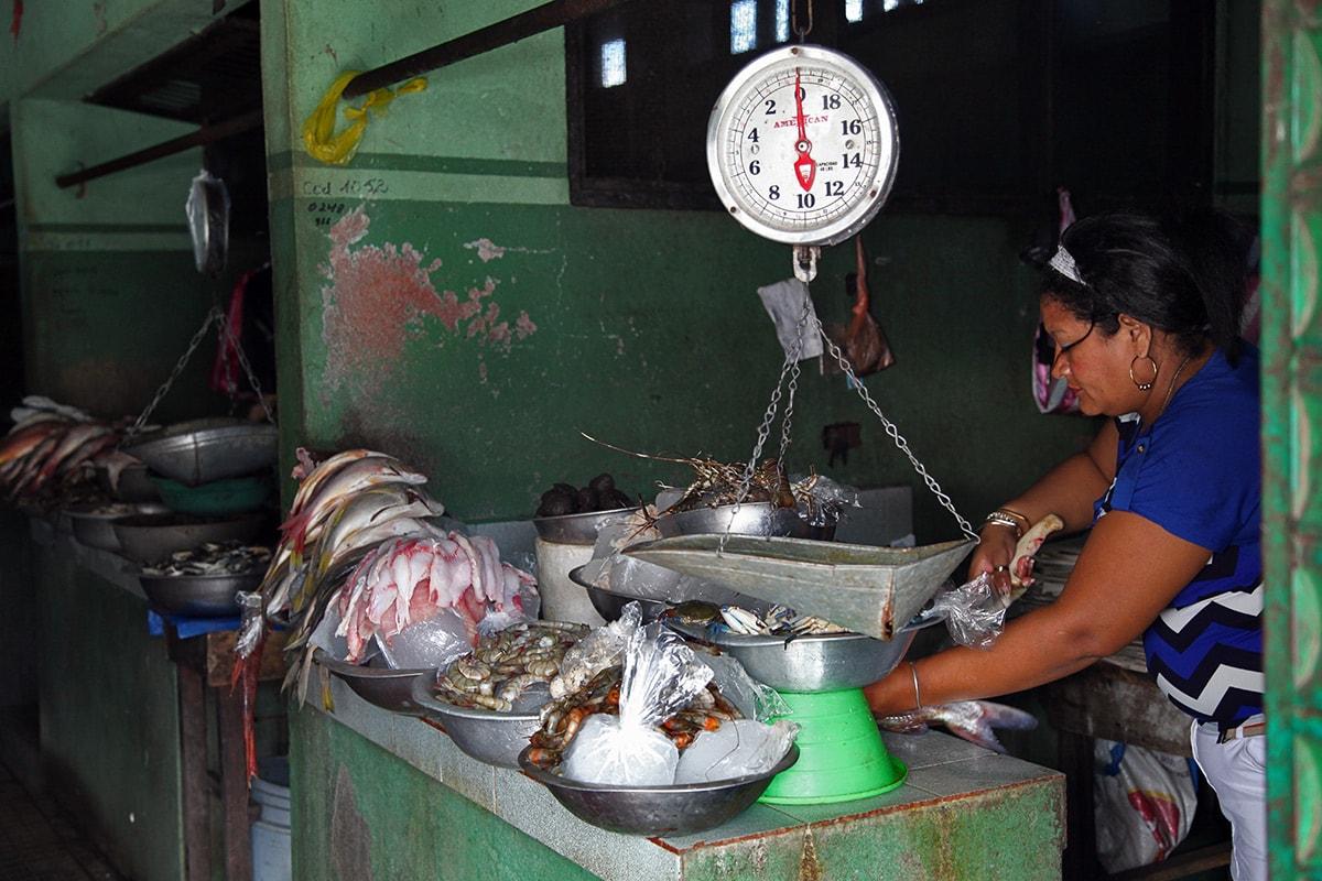 Central market León, Nicaragua