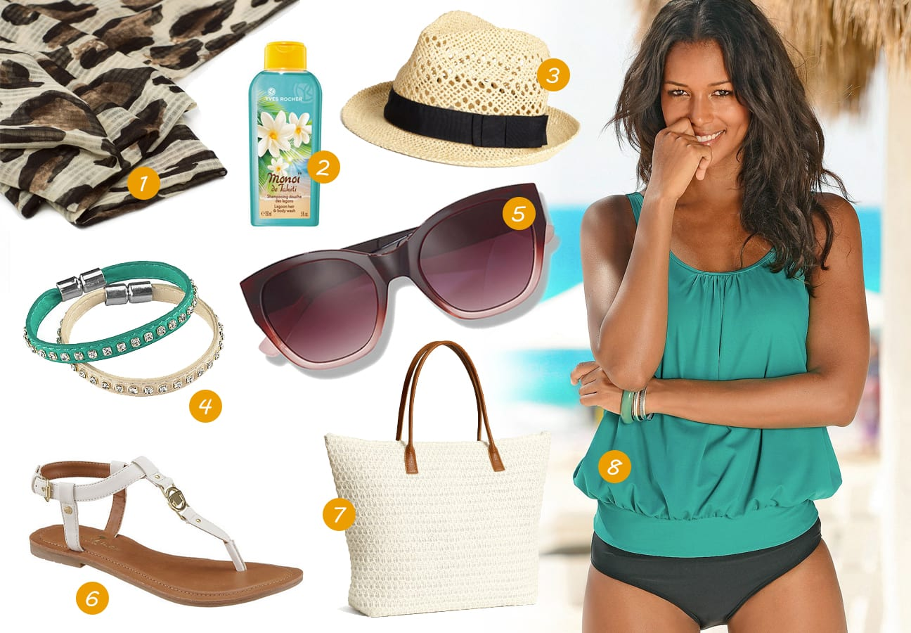Zomer Travel Essentials - Tropical beach day