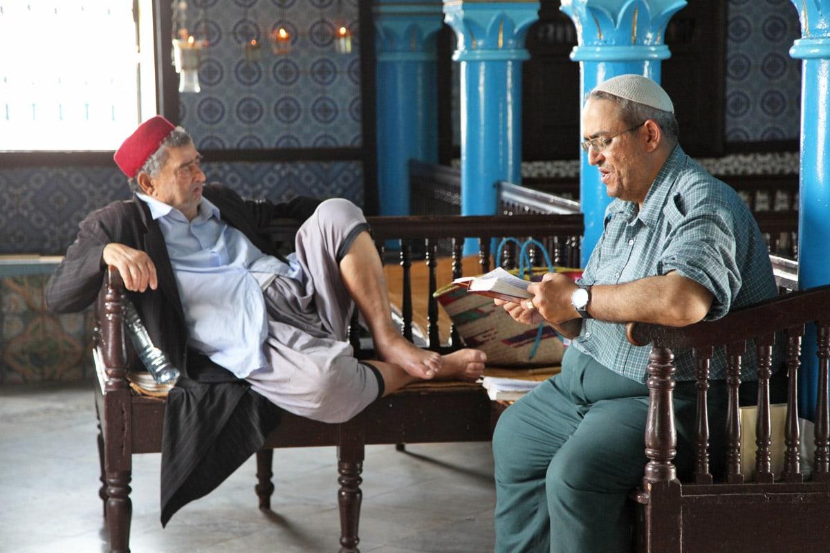 Synagoge in Djerba, Tunesië