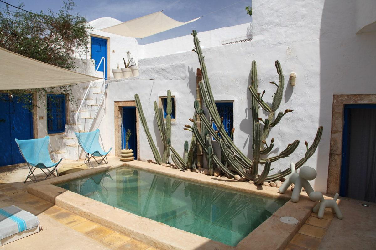 Dar in Djerba, Tunesië