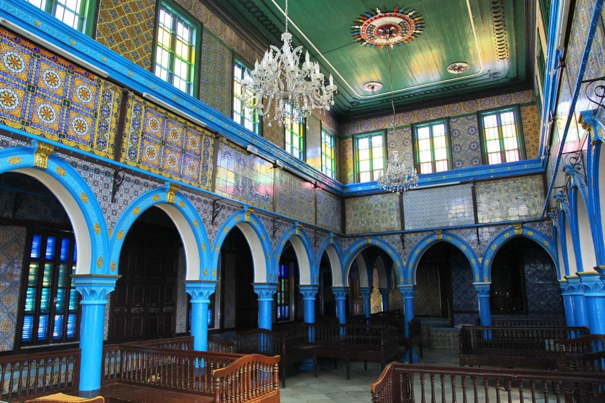 Op het eiland Djerba staat de oudste synagoge ter wereld, Tunesië