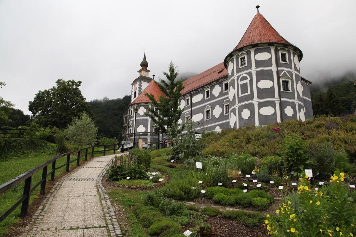 Kasteel van Olimje, Slovenië