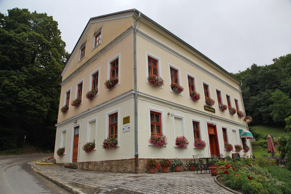 Syncerus chocolaterie in Olimje, Slovenië