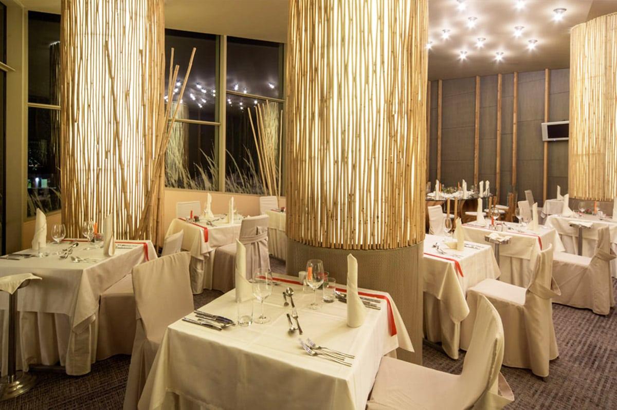 Restaurant van hotel Sotelia in Slovenië