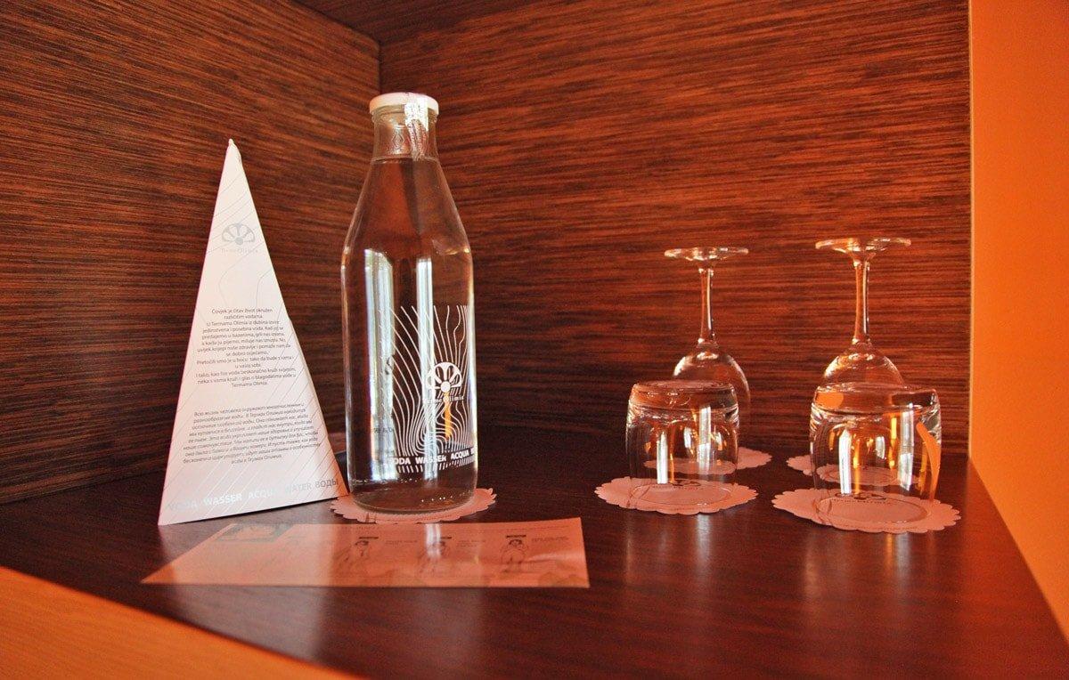 Vers bronwater bij hotel Sotelia