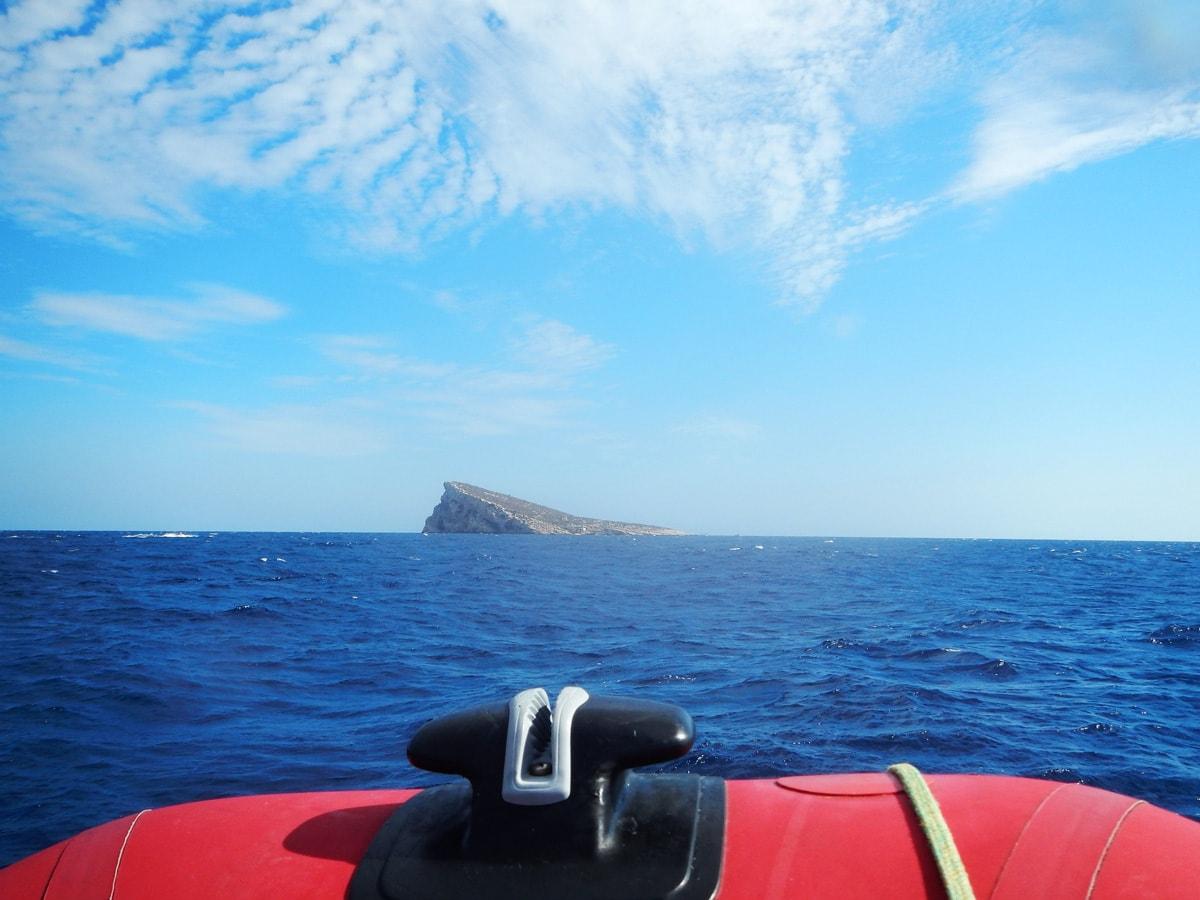 Duiken bij Benidorm Island